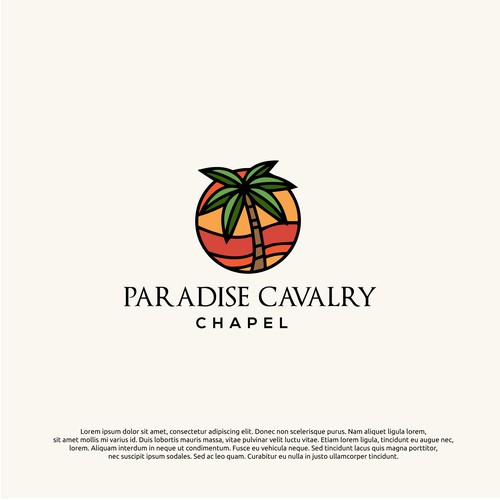 logo concept for paradise