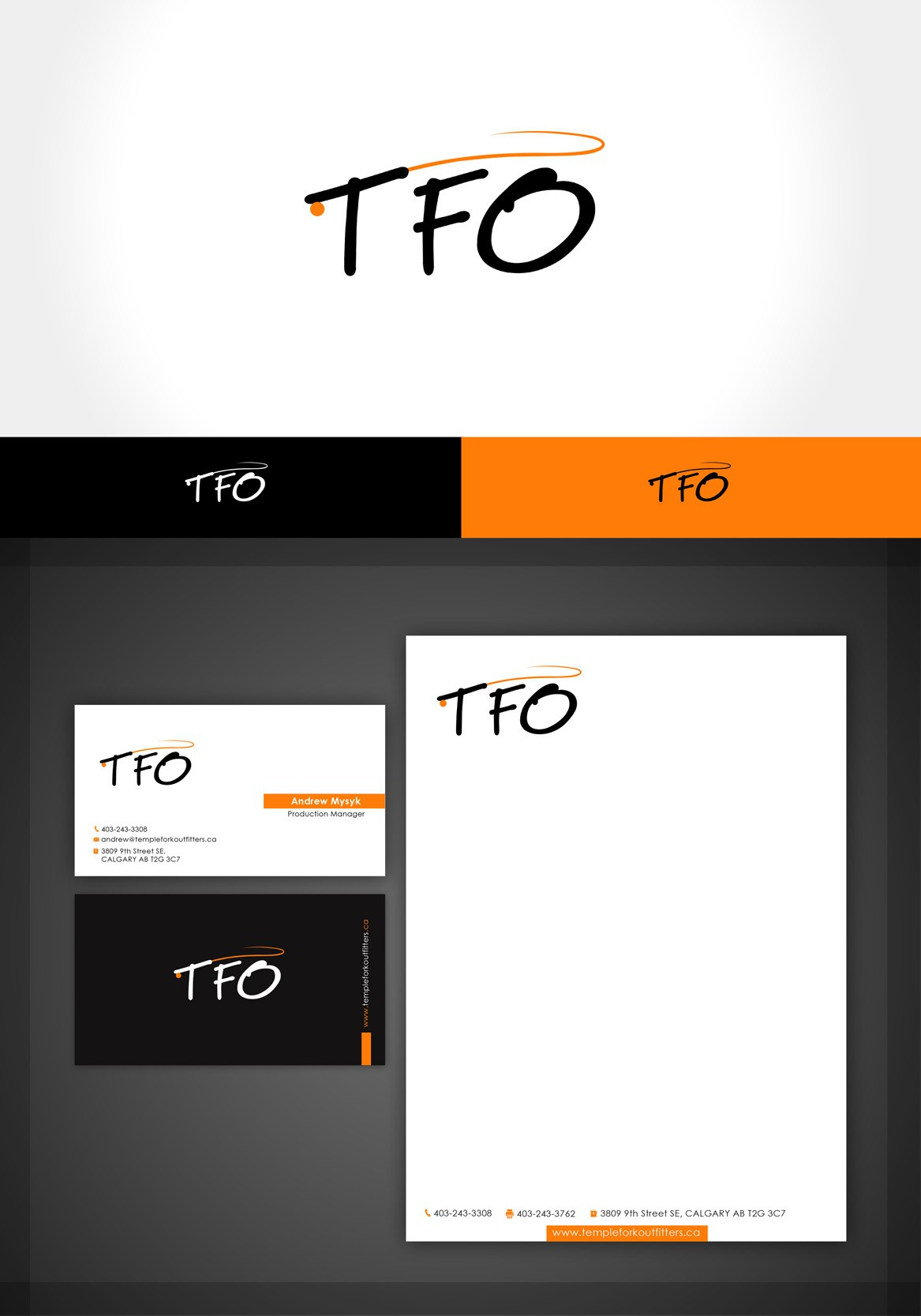 TFO needs a new logo and business card