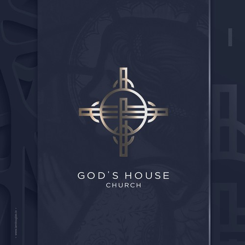 Strong icon for a community church in New Orleans