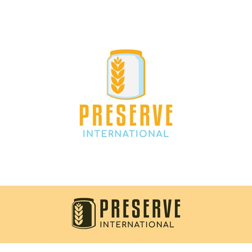 Logo for a nonprofit seeking to teach food preservation in East Africa
