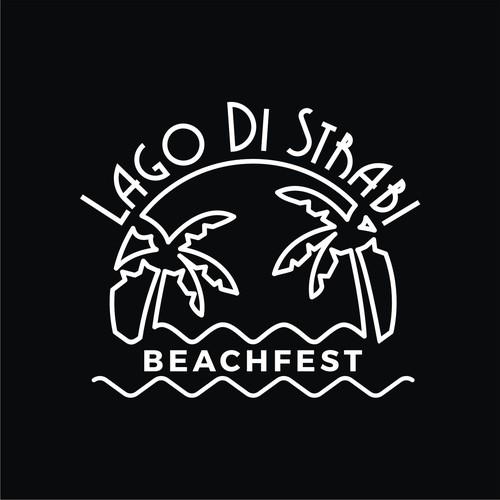 logo for beachfest