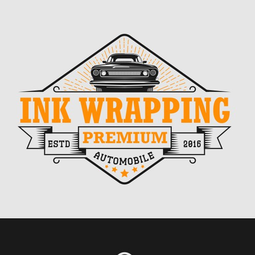 logo for car wrapping company