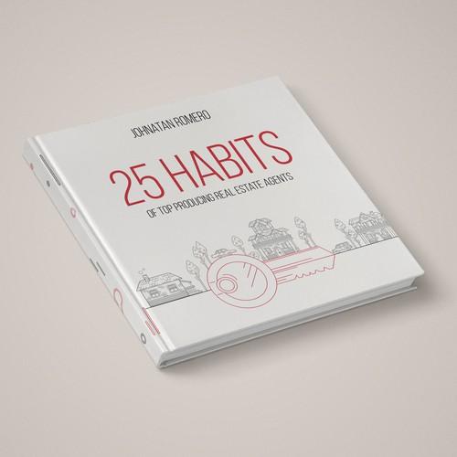 Book Cover for estate agent handbook