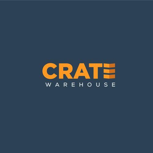 logo concept for a warehouse