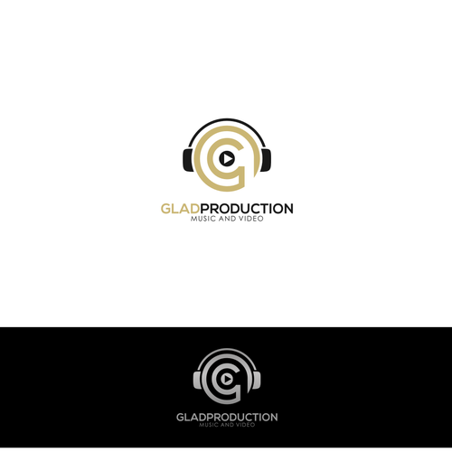Create a professional logo for music and video production High Quality