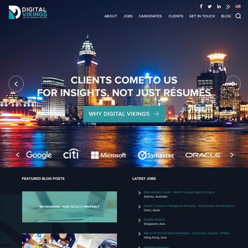 Website for Digital Vikings