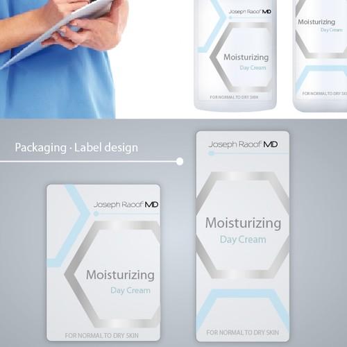 Josep Raoof Cosmetic label design