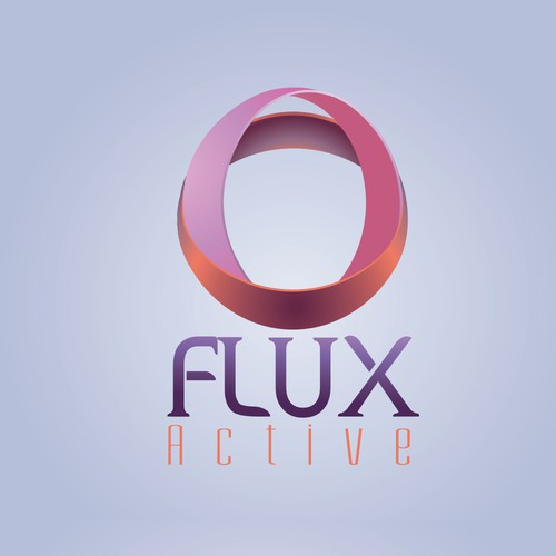 logo design for Flux Ative