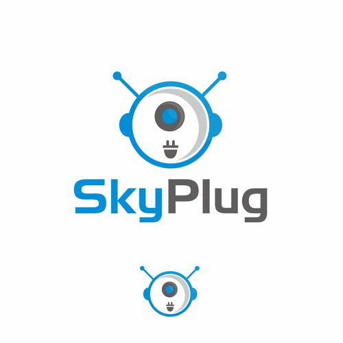Techno logo for SkyPlug