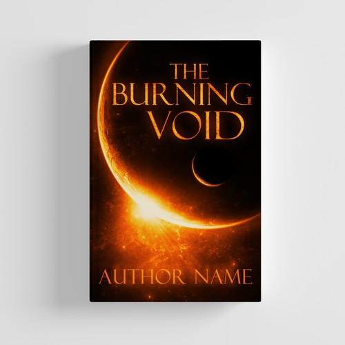 The Burning Void - Cover Design