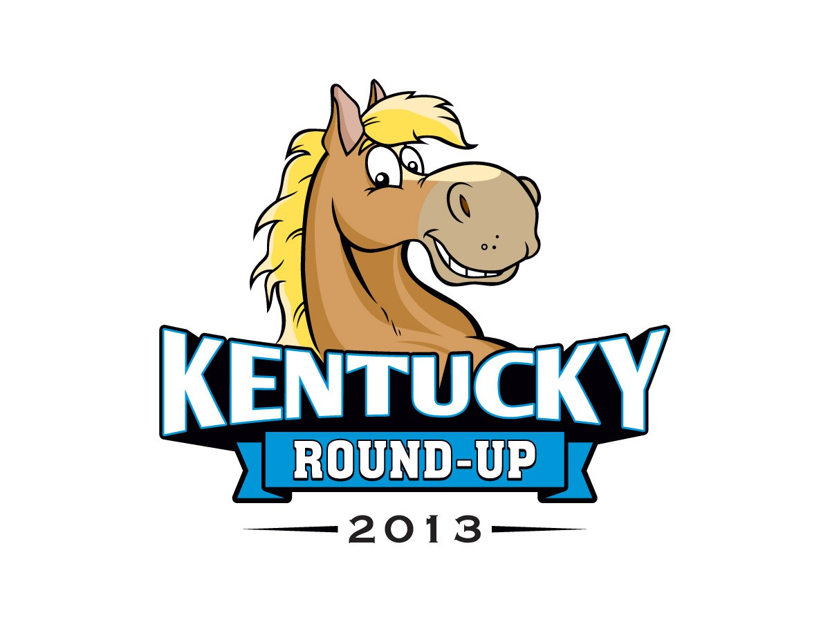 Logo for Kentucky Round-Up  (Note: Would like to incorporate the year also)