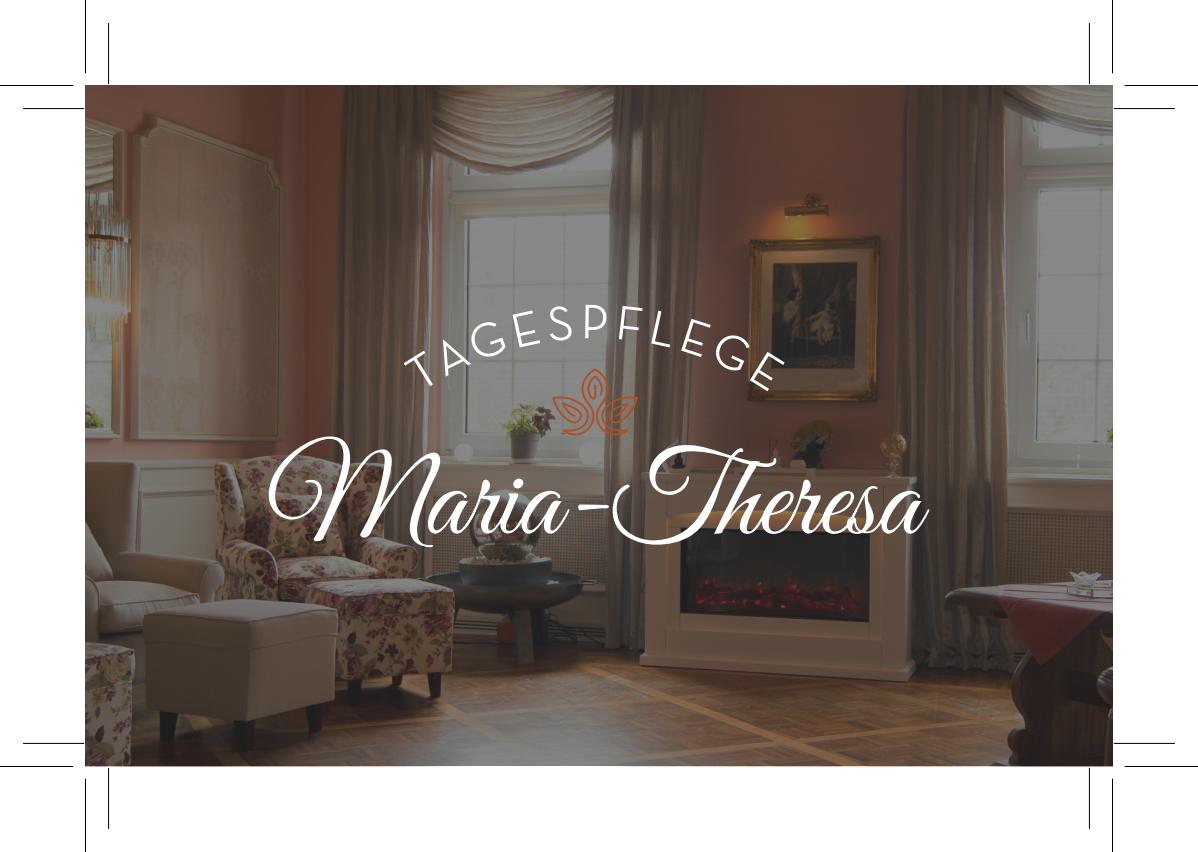 Tagespflege Maria-Theresa 2-sided Business Card