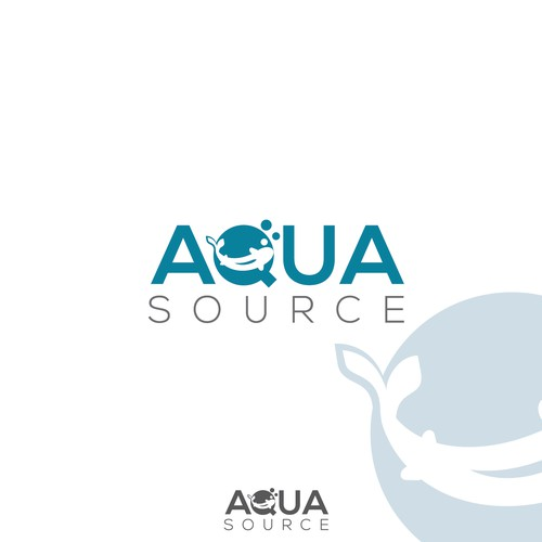 Logo for Aqua Source