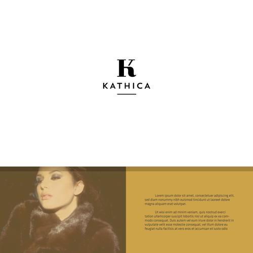 Logo for luxury women's clothing brand.