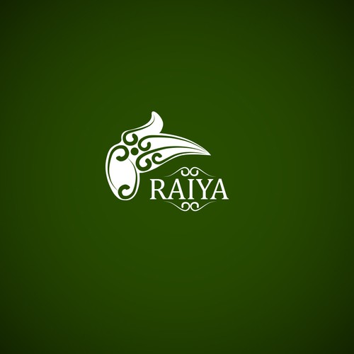 Raiya clothes and apparel logo