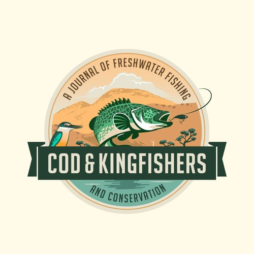 Logo for blog about freshwater fishing and environmental conservation