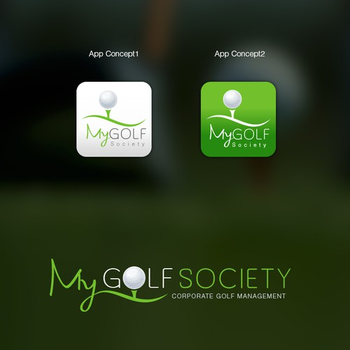 Logo for MyGolf Society