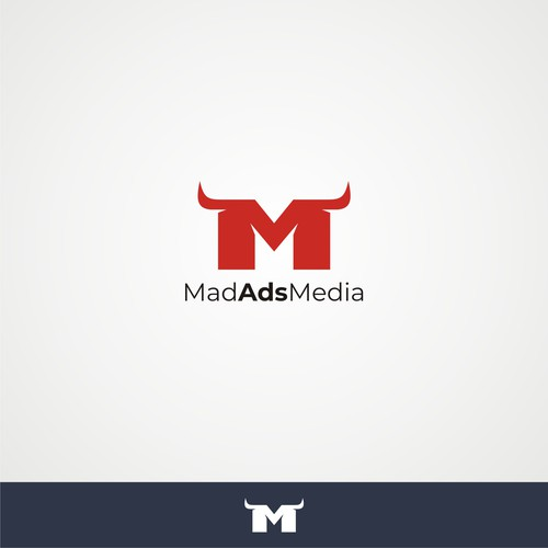 Logo concept for digital advertising firm