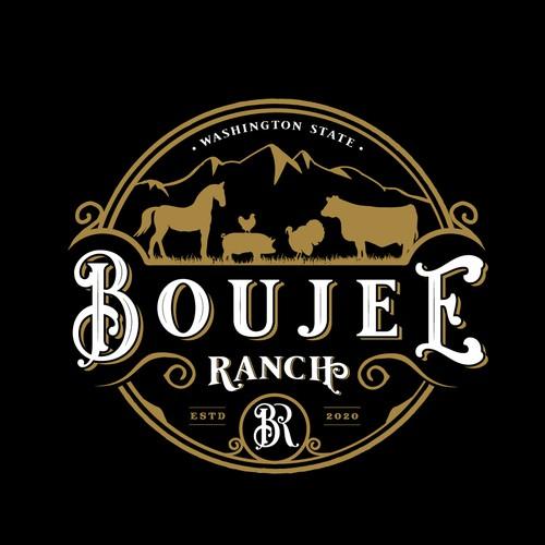 Brand and Logo for a Farm bringing back rare breeds
