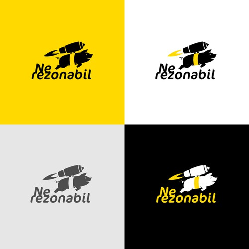 Unreasonable logo for an unreasonable company