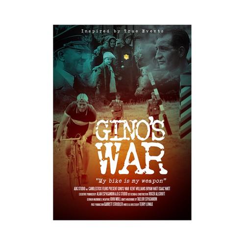 Movie Poster For Gino's War World War II