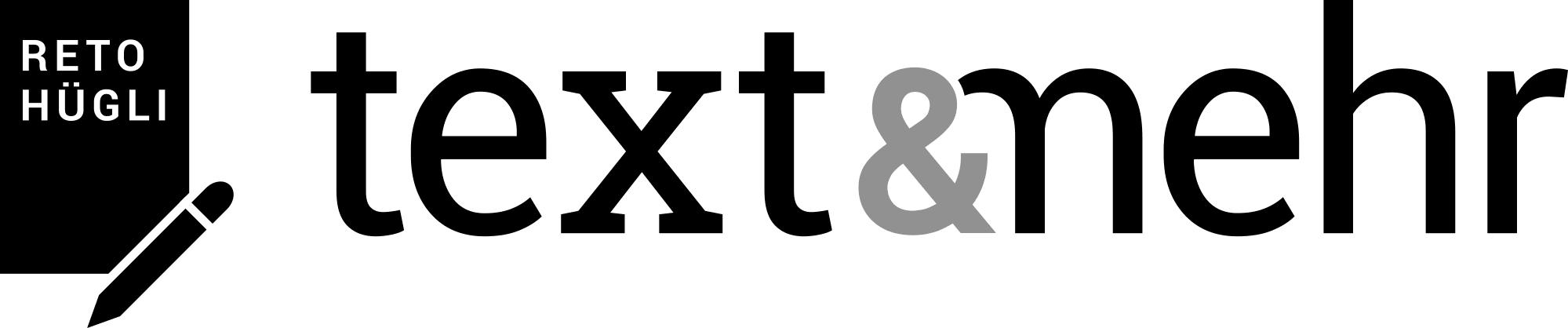 """Logo für """"Text & mehr: Die Werkstatt für gute Texte"""""""