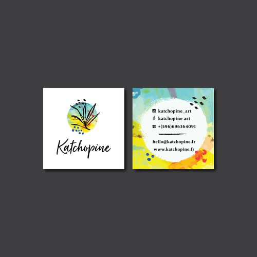 Logo and business card design for the Katchopine