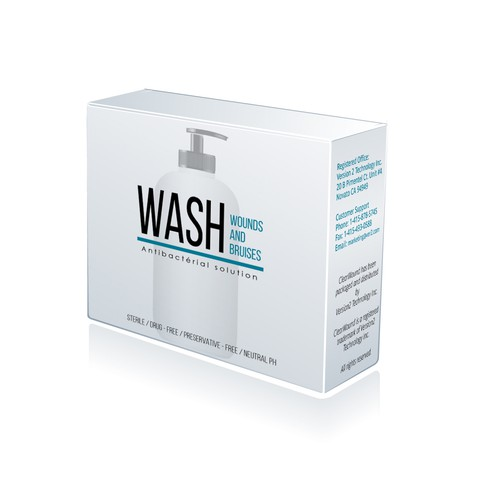 Packaging for Wound Wash