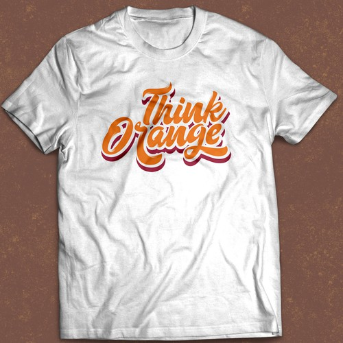 Think Orange T-Shirt