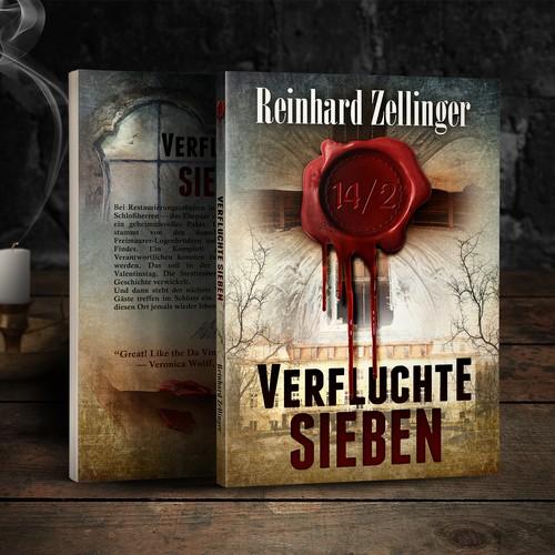 Book cover Verfluchte Sieben