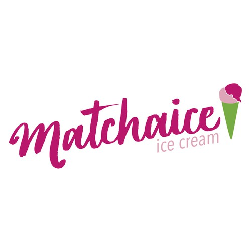 Logo for ice cream parlor