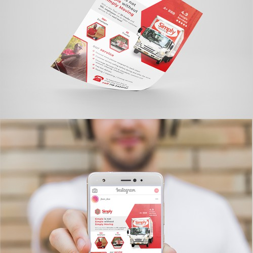 Flyer (Paper & Digital Format)
