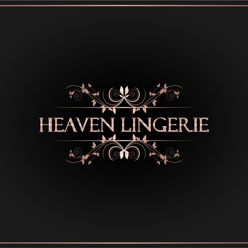 Create a lingerie logo that conveys luxury with a touch of femininity