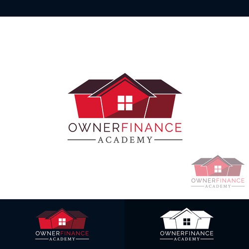 Concept logo designed for Owner Finance Academy.