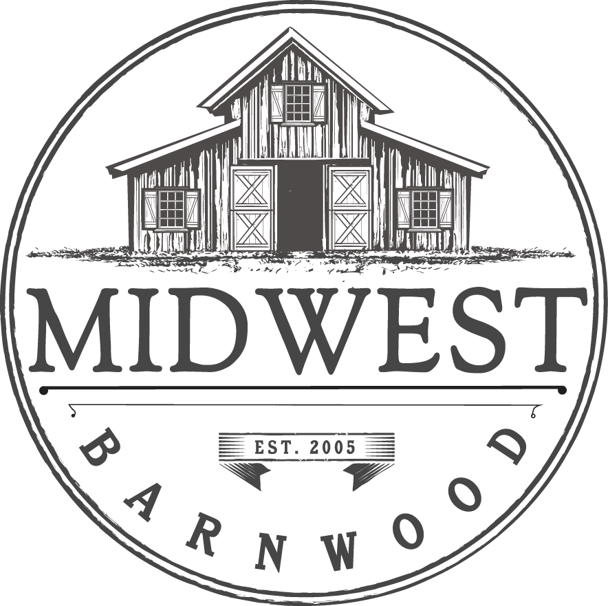 Design a classic logo for Midwest Barnwood
