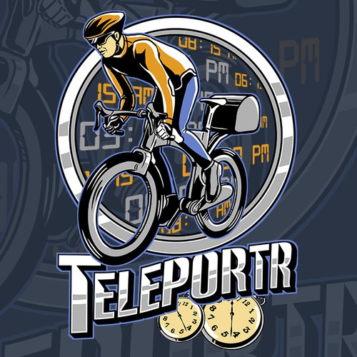 "Your style for your idea - surprise us with a cool story about ""teleportr"""