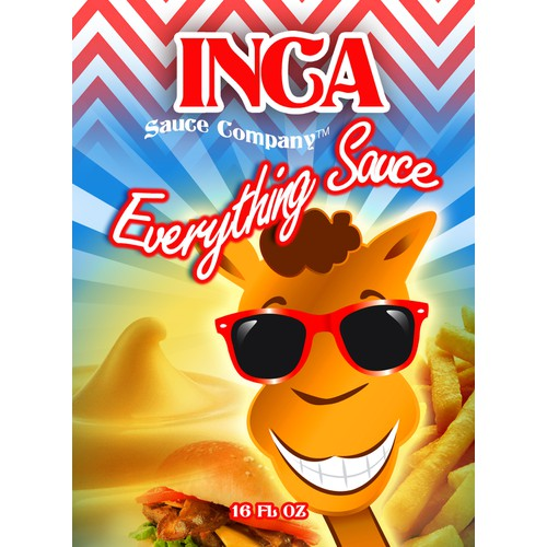 Create an ICONIC label for a SPECIAL SAUCE used for BURGERS,FRIES, and EVERYTHING ELSE!