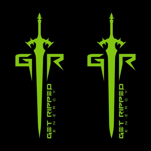 Logo design for Get Ripped Energy
