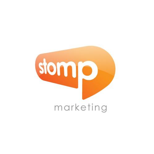 Stomp - Logo for Online Marketing Agency