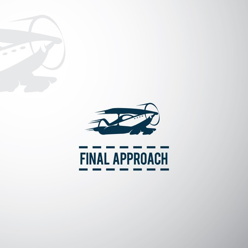Retro logo for airplane game