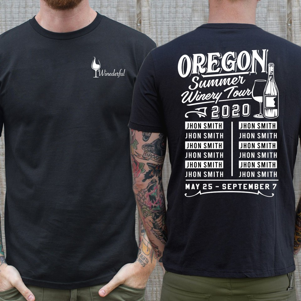 Oregon Summer Winery Tour