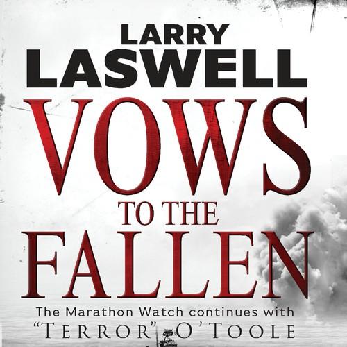 Book cover for a war novel