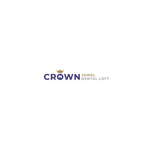 Crown Jewel dental loft logo