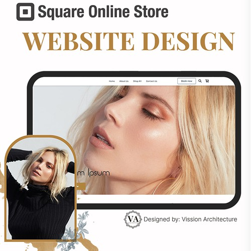 SQUARE ONLINE STORE | Design for Evans Aesthetics