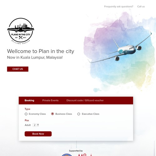 Flight website