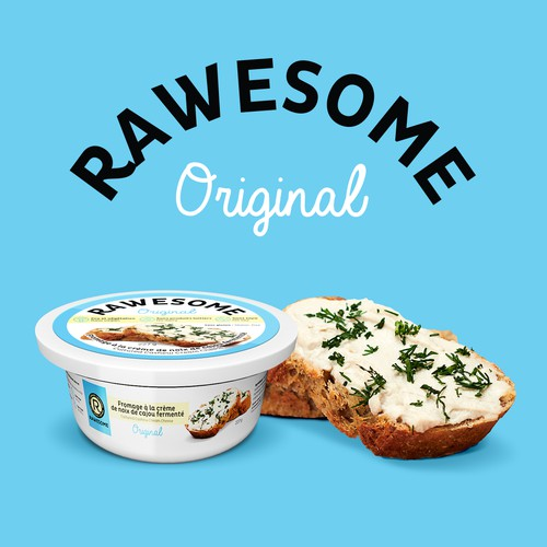 Rawesome cashew cream cheese