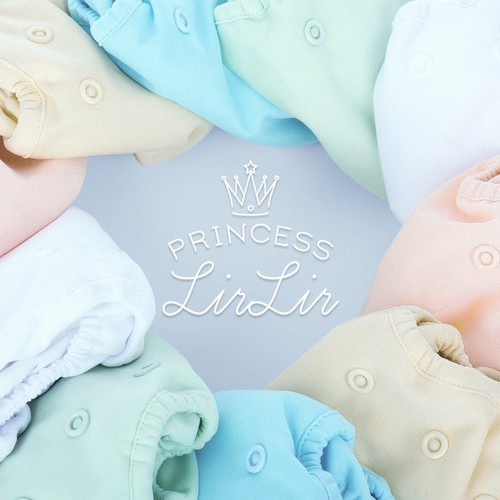 Classy, elegant logo for baby shop