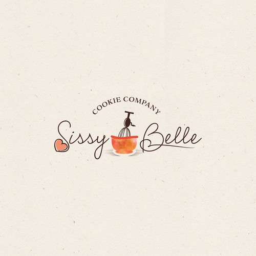 Logo design for cookie company