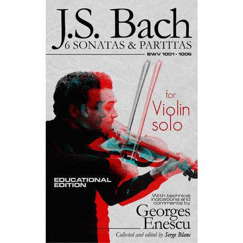 E-book cover for J.S. Bach 6 sonatas & partitas