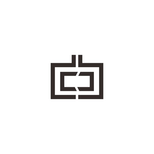 Simple, elegant logo mark for an author and speaker.